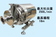TCP (All Stainless Sanitary Pump)