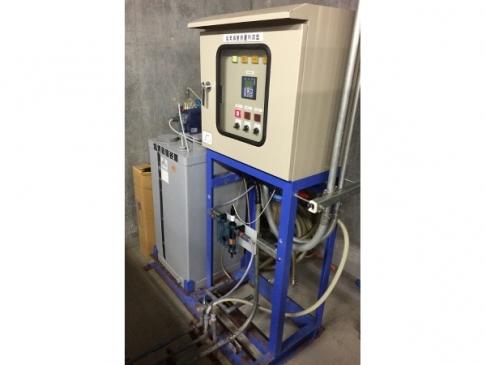 Circulating recycled water chlorine-injection and residual chlorine monitoring equipment [Residual chlorine monitoring]
