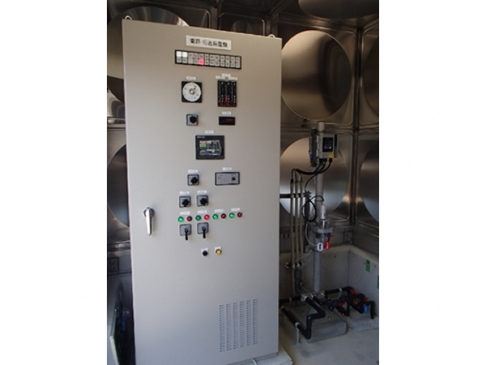 Chemical Injection suitability for filter (basin) [ProMix system]