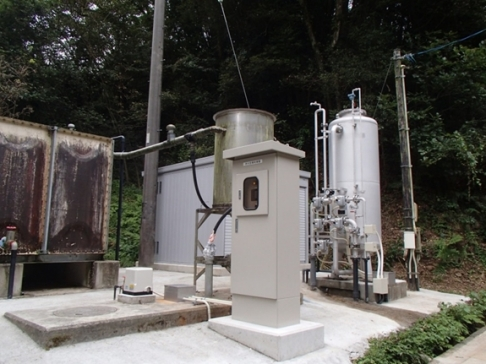 """Chemical injection control for filter by """"Linearized control"""" [ProMix system]"""