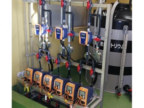 Chlorine injection & monitoring equipment