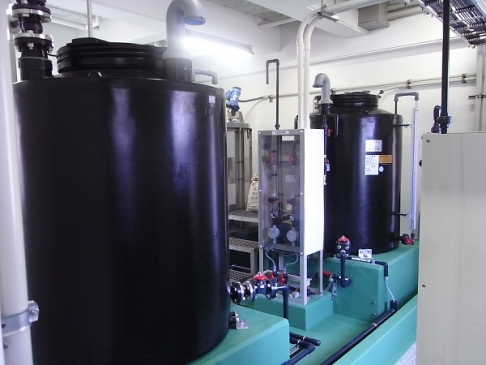 Chemical injection and control system for waterworks