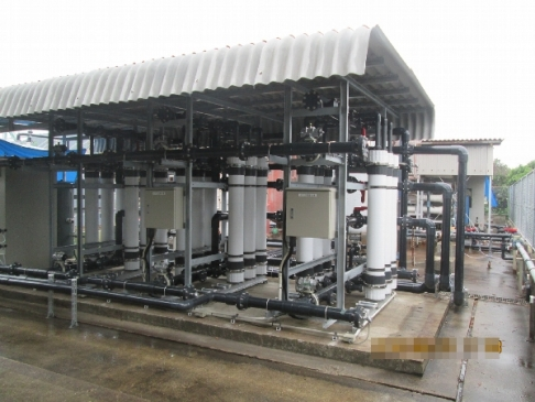 [Membrane filtration equipment (vessel-type)]
