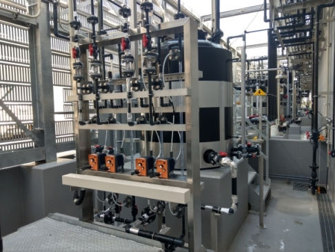 Small-type diaphragm pump unit 1