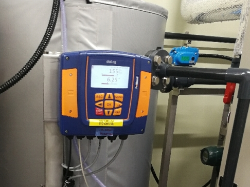 [Measuring instruments for weakly acidic hypochlorite water monitoring equipment]