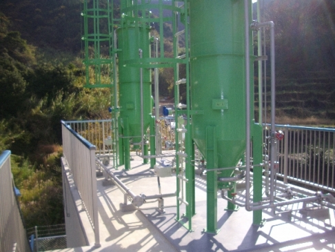 Moving-layer type filtration equipment (small-scale)